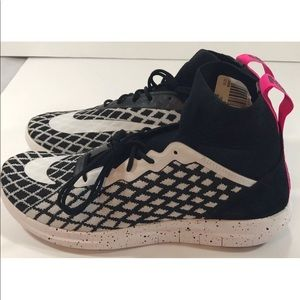 Nike Shoes - Nike Men's Free Hypervenom III Flyknit Black Pink